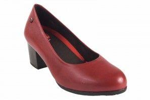 Zapato señora PEPE MENARGUES 20480 rojo