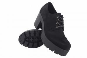 Zapato señora D'ANGELA 18208 dcz negro