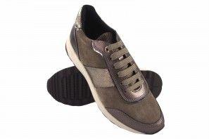 Zapato señora GEOX d942sa taupe