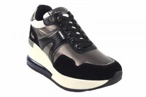 Zapato señora D'ANGELA 18037 dbd negro