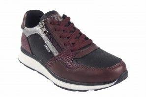 Zapato señora SWEDEN KLE 883774 burdeos