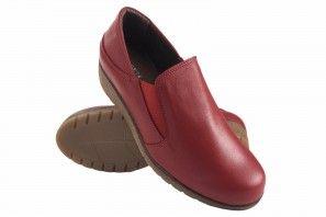 Zapato señora BELLATRIX 7560 rojo