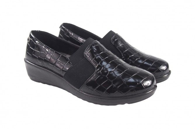 Zapato señora AMARPIES 18815 ajh negro