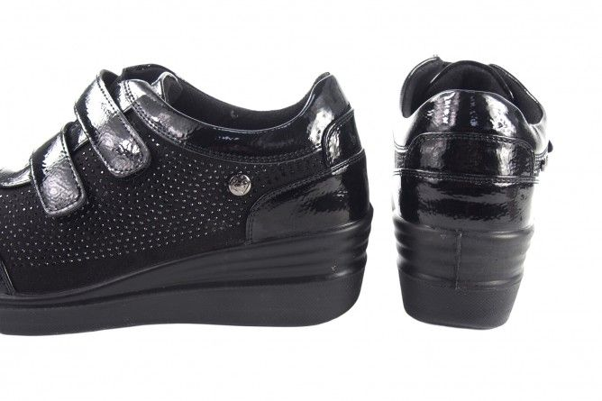 Zapato señora AMARPIES 18847 ast negro