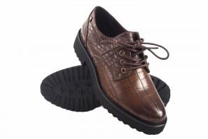 Zapato señora D'ANGELA 18127 drb marron