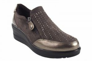 Zapato señora AMARPIES 18804 ajh taupe