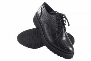 Zapato señora D'ANGELA 18127 drb negro