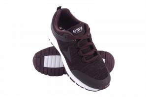Zapato señora B&W 28113 burdeos