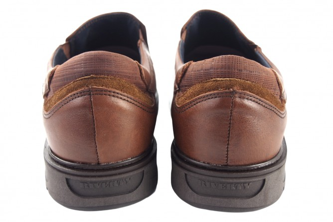 Zapato caballero RIVERTY 616 marron