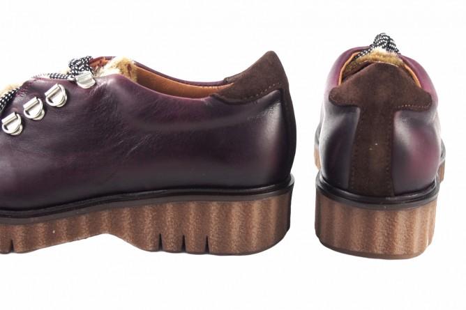 Zapato señora CO & SO pach253 burdeos