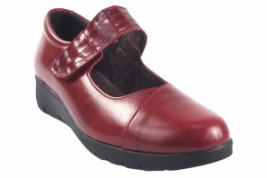 Chaussure femme BELLATRIX 10555 rouge