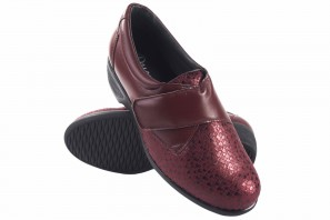 Zapato señora DUENDY 696 burdeos