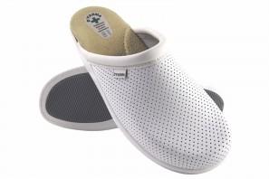Zapato caballero Bienve 31 Zueco anatomico blanco