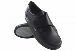Zapato caballero Bienve m36 anatomico negro