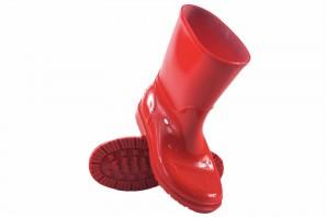 Boy KELARA bottes Kelara k01117 rouge