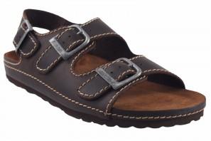 Sandale homme INTER BIOS 9504 marron 90605
