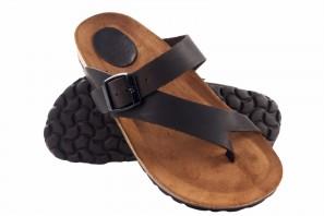 Sandale femme INTER BIOS 7119 marron 90575