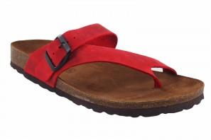 Sandale femme INTER BIOS 7119 rouge