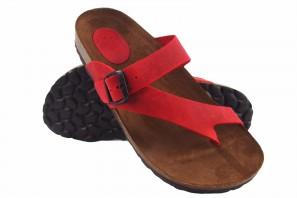 Sandale femme INTER BIOS 7119 rouge 90742