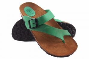Dame Sandale INTER BIOS 7119 grün