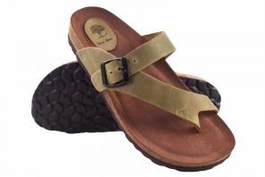 Sandale femme INTER BIOS 7119 kaki 90578