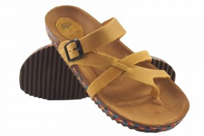 Sandale femme INTER BIOS 7121-c moutarde