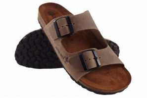 Sandale homme INTER BIOS 9560 taupe