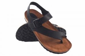 Sandale femme INTER BIOS 7162 noir