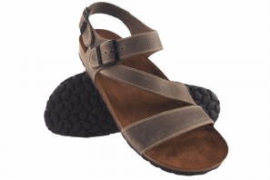 Sandale homme INTER BIOS 9557 taupe 90617
