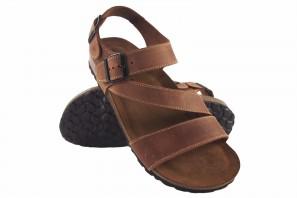 Sandale homme INTER BIOS 9557 cuir