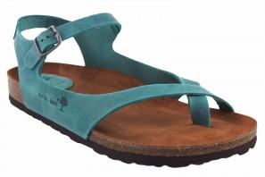 Sandale femme INTER BIOS 7164 denim 90587