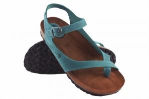 Sandale femme INTER BIOS 7164 denim