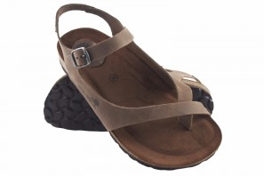 Sandale femme INTER BIOS 7164 taupe