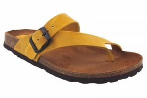 Sandale femme INTER BIOS 7119 moutarde 90572
