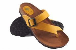 Sandale femme INTER BIOS 7119 moutarde