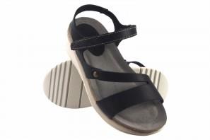 Sandale femme INTER BIOS 6901 noir