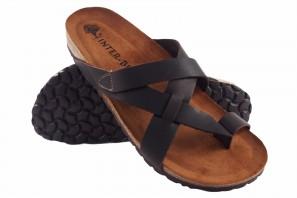 Sandale homme INTER BIOS 9513 marron