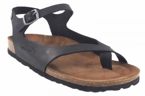 Sandale femme INTER BIOS 7164 noir 90586