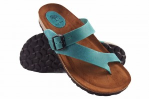 Sandale femme INTER BIOS 7119 denim 90574