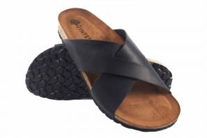 Sandale homme INTER BIOS 9509 noir