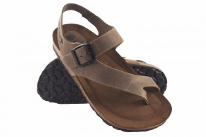 Sandale femme INTER BIOS 7162 taupe