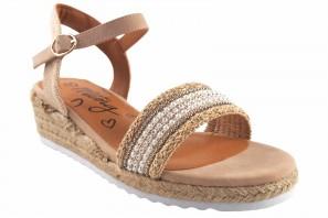 Sandale fille MUSTANG KIDS 48253 beige