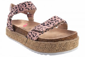 Sandalia niña MUSTANG KIDS 48267 leopardo
