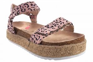 Sandale fille MUSTANG KIDS 48267 léopard