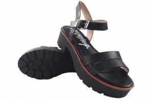 Sandalia señora MUSTANG 50437 negro