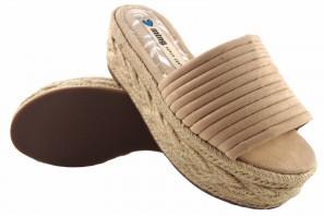 Sandale femme MUSTANG 51118 beig