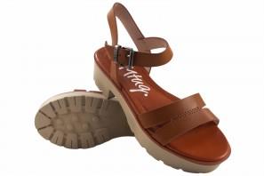 Sandale femme MUSTANG 50437 cuir