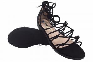 Sandalia señora MUSTANG 50512 negro