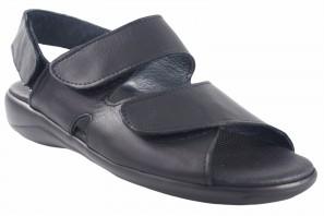Sandalia caballero DUENDY 926 negro