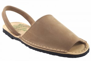 DUENDY Sandale DUENDY 9350 taupe